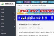 SEO网赚博客,七哥首推网赚大咖倪叶明!